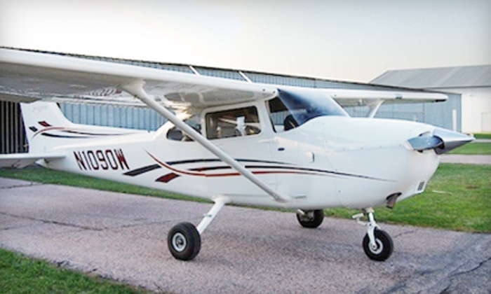Cool Air's Sioux Falls Flight School - Sioux Falls: $129 for an Introductory Flight Lesson from Cool Air's Sioux Falls Flight School ($268 Value)