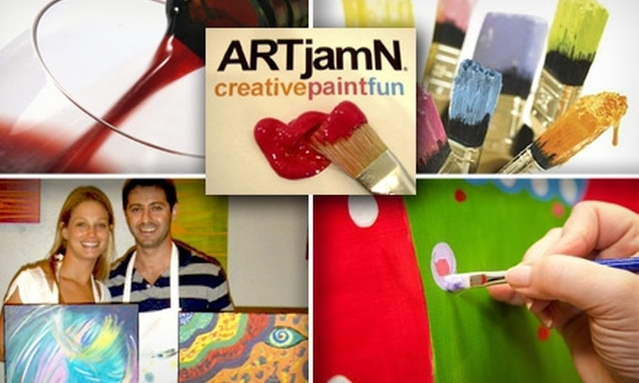 ARTjamN - Cooper Young Community Association: $20 for a Guided or Freestyle Art Entertainment Night at ARTjamN ($40 Value)