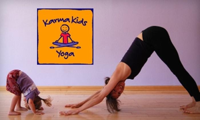 Karma Kids Yoga - Chelsea: $35 for Five Kids' Yoga Classes at Karma Kids Yoga in Manhattan