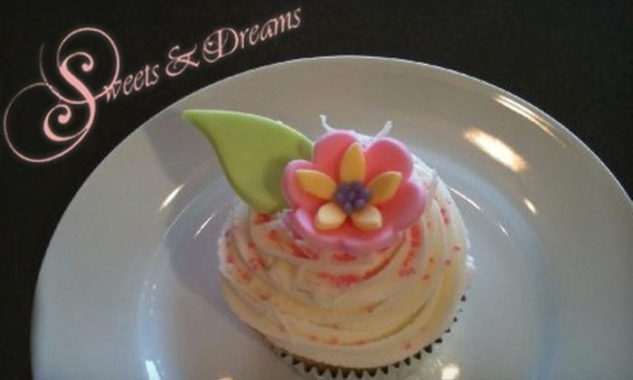 Sweets & Dreams - Whitby: $8 for Six Gourmet Cupcakes from Sweets & Dreams in Whitby