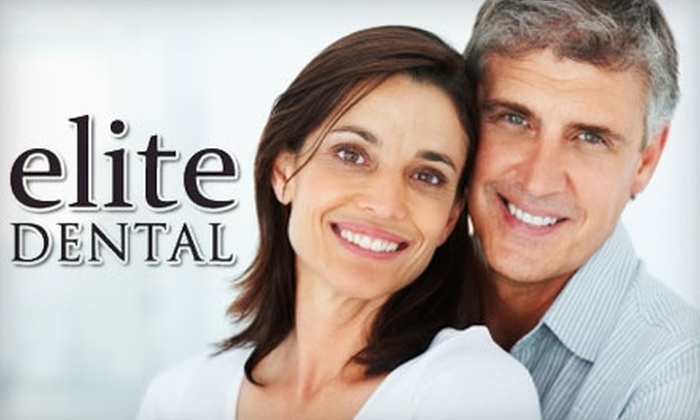 Elite Dental - Northwest Side: Dental Services at Elite Dental (Up to $679 Value). Choose from Two Options.
