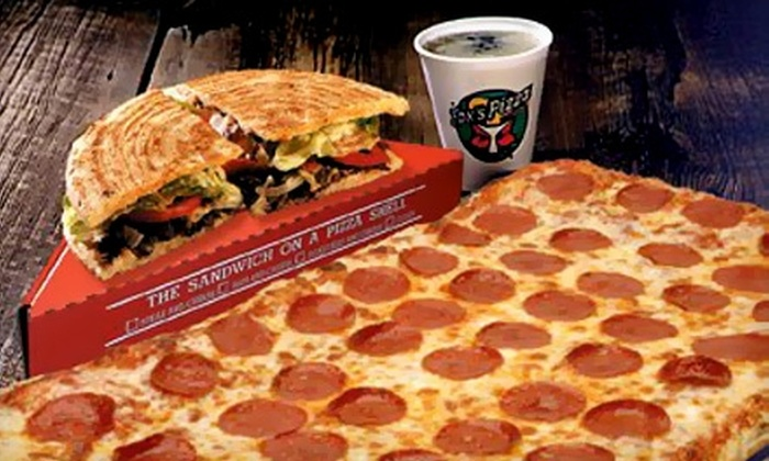 Fox's Pizza Den - Kyle: $7 for $15 Worth of Pizza and More at Fox's Pizza Den. Choose From Two Locations.