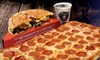 Fox's Pizza Den - Multiple Locations: $7 for $15 Worth of Pizza and More at Fox's Pizza Den. Choose From Two Locations.