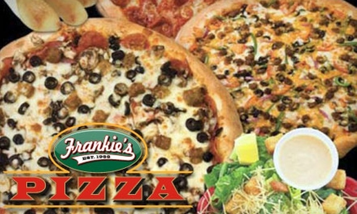 Frankie's Pizza - Multiple Locations: $12 for $25 Worth of Pizza and More at Frankie's