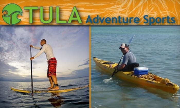 Tula Adventure Sports - Virginia Beach: $20 for a Two-Hour Stand-Up Paddleboarding Tour or $30 for Six Hours of Kayak Rental from Tula Adventure Sports