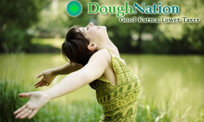 DoughNation Services - Portland: $58 for a Five-Bag Pick-up, Plus Tax-Deduction Services, from DoughNation Services ($119 Value)