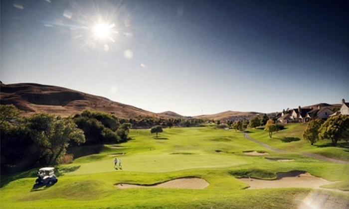 Hiddenbrooke Golf Club - Vallejo: $49 for Round of Golf, Cart Rental, Range Balls, Towel, and Draft Beer or Soda at Hiddenbrooke Golf Club in Vallejo (Up to $100 Value)