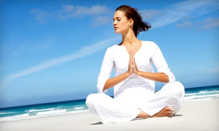 B Yoga Center - Melrose: 10 or 15 Yoga Classes at B Yoga Center in Melrose