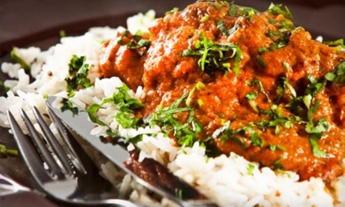Mayuri Indian Restaurant - Temple Terrace: $13 for $30 Worth of Indian Fare at Mayuri Indian Restaurant in Temple Terrace