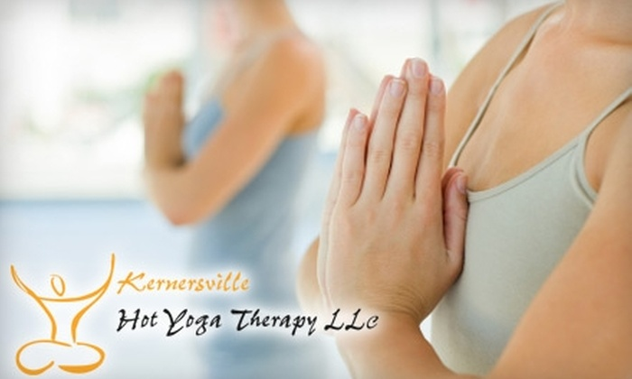 Hot Yoga Therapy - Kernersville: $19 for a 20-Class Punch Card at Hot Yoga Therapy ($200 Value)