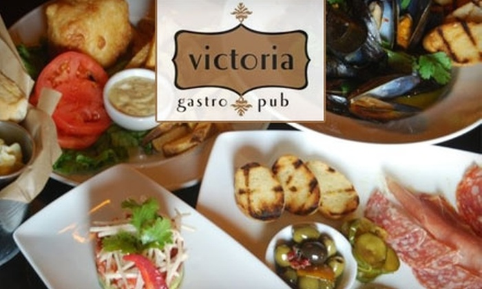 Victoria Gastro Pub - Long Reach: $15 for $30 Worth of Creative Pub Fare and Drinks at Victoria Gastro Pub in Columbia