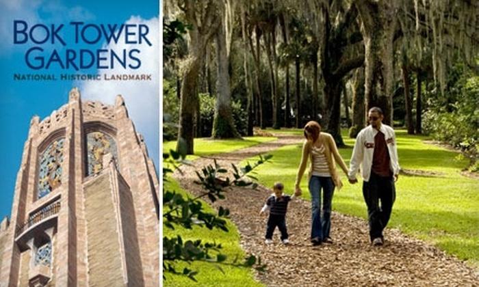 Bok Tower Gardens - Mountain Lake: $30 One-Year Family Membership to Bok Tower Gardens