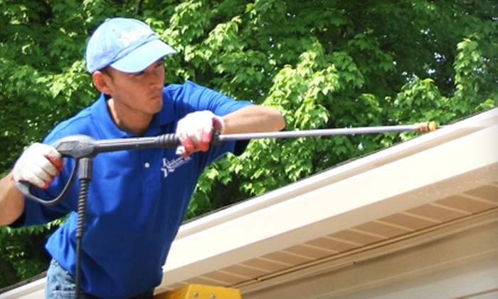 Gutterman Services - North Central: $49 for $150 Worth of Power-Washing Services from Gutterman Services