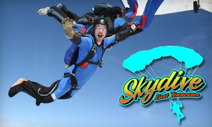 Skydive East Tennessee - 2: $125 for a Tandem Skydive at Skydive East Tennessee ($225 Value)