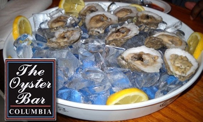 The Oyster Bar Columbia - Columbia: $7 for $15 Worth of Savory Seafood and Drinks at The Oyster Bar Columbia
