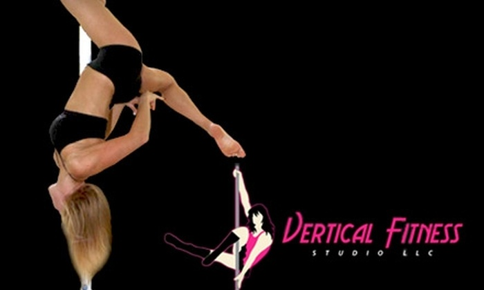 Vertical Fitness Studio - Folsom Road: Pole-Dancing Classes at Vertical Fitness Studio. Choose from Two Options.