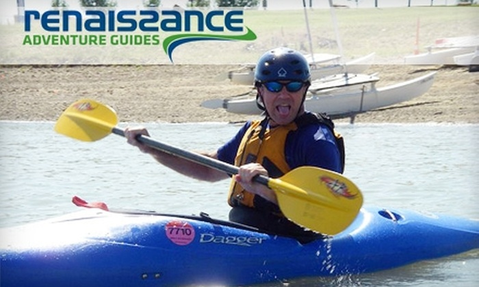 Renaissance Adventure Guides - Multiple Locations: $60 for a Full-Day Kayaking Lesson from Renaissance Adventure Guides ($120 Value)