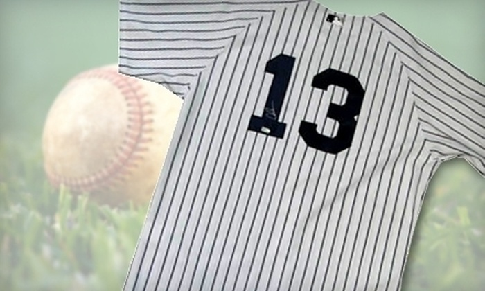 Powers Collectibles: $299 for One Autographed Alex Rodriguez Yankees Jersey from Powers Collectibles ($598.95 Value)