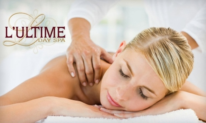 L'Ultime Day Spa - Greensboro: $35 for a 60-Minute Customized Massage at L'Ultime Day Spa ($75 Value)
