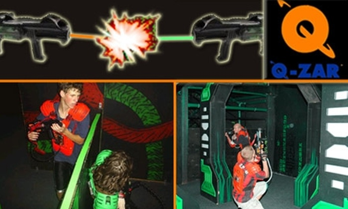 Q-Zar - Tampa Bay Area: $9 for Three 15-Minute Games of Laser Tag at Q-Zar ($18 Value)