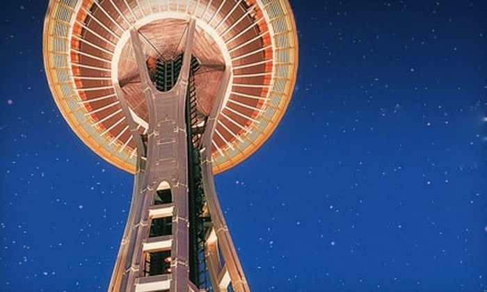 Space Needle - South-Lake Union: $49 for an Annual Pass ($99.99 Value) or $75 for a Family Annual Pass ($149.99 Value) at the Space Needle