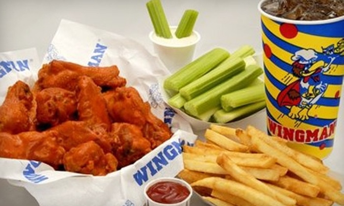 Wingman - Multiple Locations: $10 for $20 Worth of Wings and More at Wingman. Choose Between Two Locations.