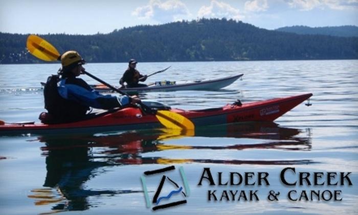 Alder Creek Kayak & Canoe - Hayden Island: $29 for Basic Skills Kayak Class at Alder Creek Kayak & Canoe ($65 Value)