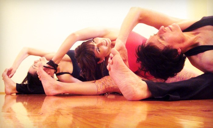 Mission Yoga - North Mission - Crawford: $29 for a Five-Class Punch Card at Mission Yoga ($65 Value)