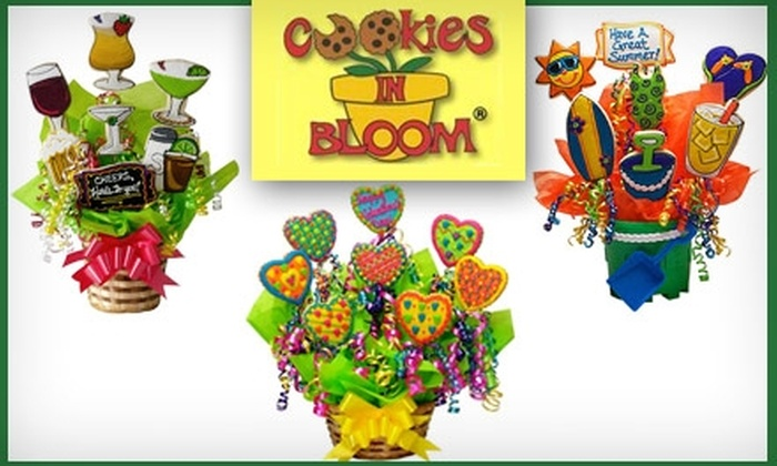 Cookies In Bloom - Glenview: $30 for $60 Worth of Delicious Gourmet Cookies From Cookies in Bloom