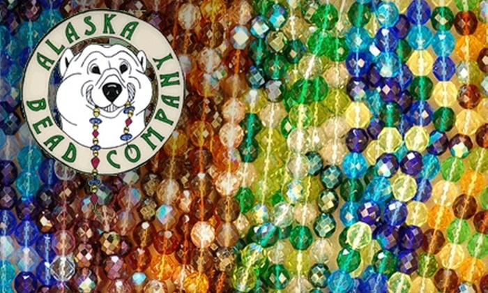 Alaska Bead Company - Tudor Area: $10 for a Basic Bead-Stringing Class at Alaska Bead Company ($20 Value)