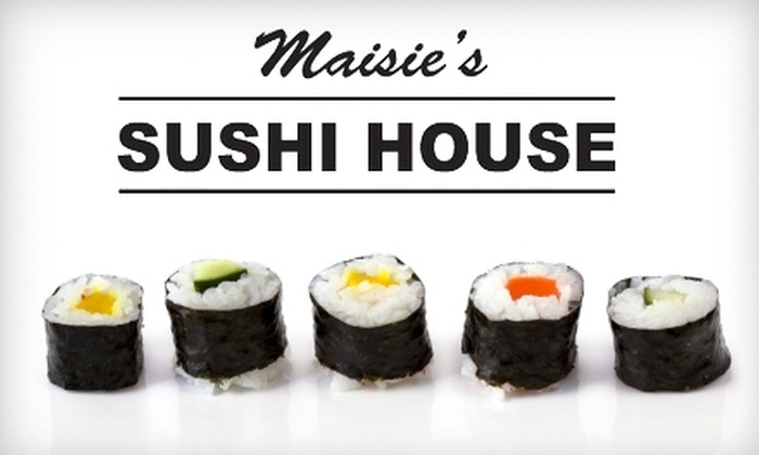 Maisie's Sushi House - Modesto: $12 for $25 Worth of Sushi, Drinks, and More at Maisie's Sushi House