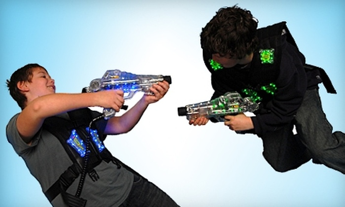 Lazer Gate - Fall River: $8 for Three Games of Laser Tag at Lazer Gate in Fall River