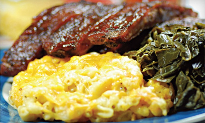 The Prime Smokehouse - Raleigh: Weekend Jazz Show or Barbecue Dinner for Two or Four at The Prime Smokehouse