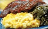 The Prime Smokehouse - New Location - Raleigh: Weekend Jazz Show or Barbecue Dinner for Two or Four at The Prime Smokehouse