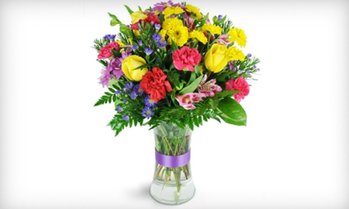 The Flower Mill - Sioux Falls: $25 for $50 Worth of Fresh Floral Arrangements at The Flower Mill