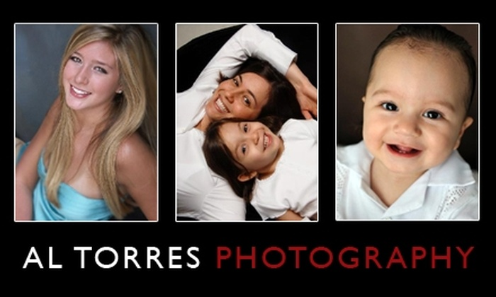 Al Torres Photography - Woodlake/ Briar Meadow: $50 Photo Session with One 8x10 and Contact Sheets at Al Torres Photography (Up to $144 Value)