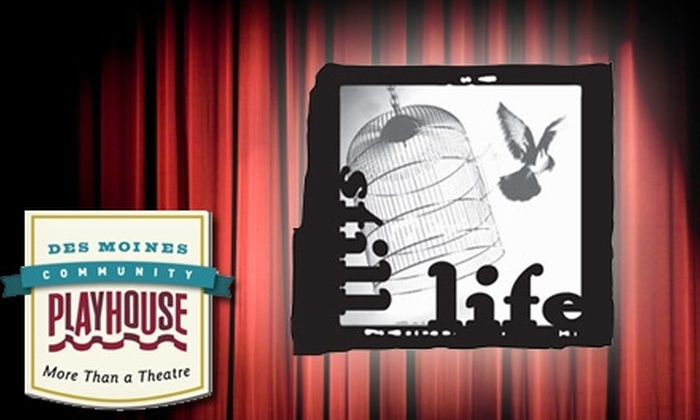 """Des Moines Community Playhouse - Drake: Two Tickets to """"Still Life"""" or a Three-Show Mini-Season Ticket at the Des Moines Community Playhouse. Choose from Five Options."""
