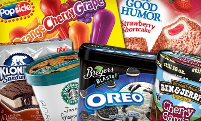 Jewel-Osco - Chicago: $9 for $15 Worth of Assorted Ice-Cream Treats at Jewel-Osco