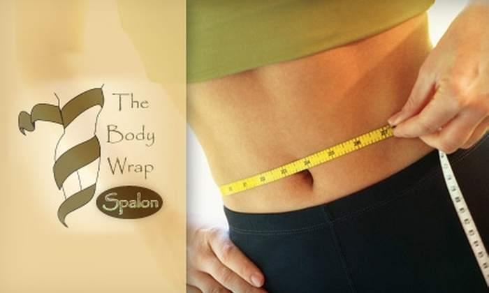 The Body Wrap Spalon - Central Oklahoma City: $99 for Three Express Slim Body Wraps at The Body Wrap Spalon ($327 Value)