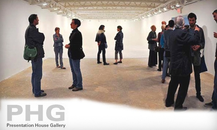 Presentation House Gallery - North Vancouver: $20 for a General Annual Membership to Presentation House Gallery