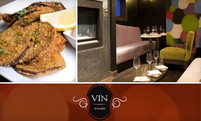 Vin Room - Mission: $15 for $30 Worth of Tapas and Wine at Vin Room