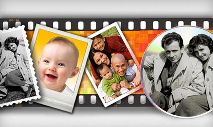 FotoBridge.com: $45 for $90 Worth of Scanning and Digital Conversion from FotoBridge.com