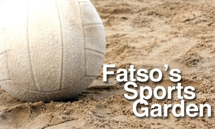 Fatsos Sports Garden North San Antonio Deal Of The Day