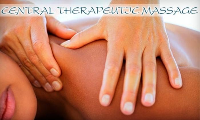 Central Therapeutic Massage Group - Wichita: $30 for a 60-Minute Massage at Central Therapeutic Massage Group ($60 Value)
