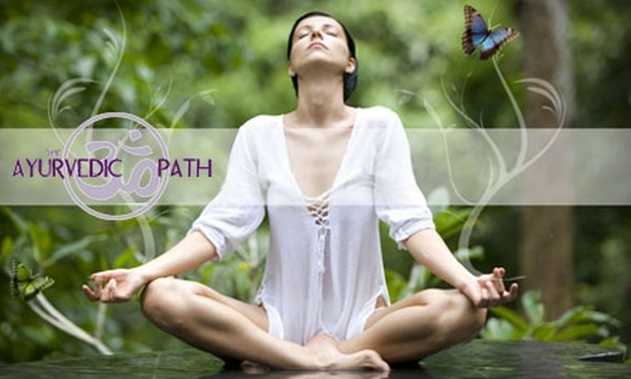 The Ayurvedic Path - Herndon: $30 for Four Group Yoga Classes or One 60-Minute Personal Yoga Session at The Ayurvedic Path in Herndon (Up to $75 Value)