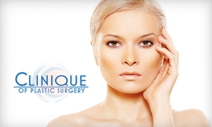 Clinique of Plastic Surgery - Multiple Locations: $69 for Two Microdermabrasion Treatments, Plus $25 Toward Skincare Products at Clinique of Plastic Surgery