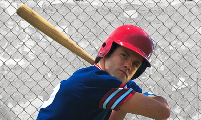 The Hitting Zone - Bartlett: 35 or 70 Batting-Cage Tokens at The Hitting Zone in Bartlett (Up to 56% Off)