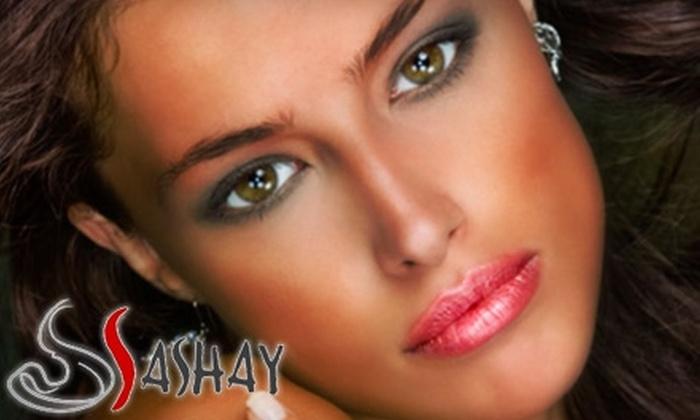 Sashay Day Spa & Hair Salon - Shellmont: $50 for an Exfoliating and Revitalizing Facial at Sashay Day Spa & Hair Salon