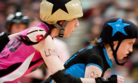 Ticketmaster: DC Rollergirls at the DC Armory on Sun., Oct. 9 at 4PM: General Admission - DC Rollergirls in Washington