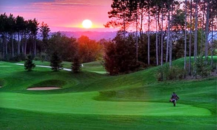 Settlers' Ghost Golf Club - Barrie: Round of Golf for Two and a Power Cart at Settlers' Ghost Golf Club. Choose Between Two Options